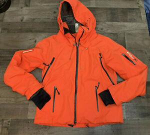 Ralph Lauren RLX 12 Jacket Orange Waterproof Ski Recco Equipped Size M