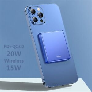 10000mAh Magnetic Power Bank 15W Fast Wireless charging For iphone 12 12Pro