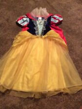 Disney Store Girls Snow White Play Fantasy Costume Dress 5/6 Princess Dress Up