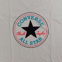 NEW WOMEN'S CONVERSE ALL STAR LOGO GRAPHIC T-SHIRT SIZE US XS/M 13430C