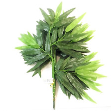 Pack of 12 Bamboo Leaf Sprays - 45cm - Artificial Leaves - Decorative Foliage