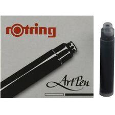 Rotring Kalligraphie ArtPen Tintenpatrone, schwarz, 6 Füller Partonen