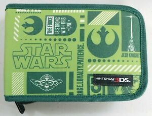 Star Wars Jedi Knights - Nintendo 3DS Soft Sided Zippered Carrying/Storage Case