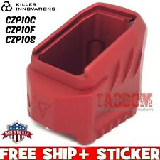Killer Innovations Velocity Red Grip Extension Czp10C Czp10F Czp10S Magazine