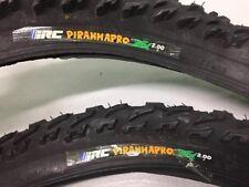 NOS VINTAGE IRC Piranha Pro 26 x 2.0 1990s Front & Rear Mountain Bike Tires