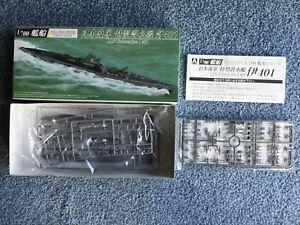 Aoshima 1/700 I.J.N. Submarine Full Hull Model Kit #037980