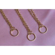 Karma Dainty Round Circle Necklace Eternity Gold Elegant Jewellery Gift Pendant