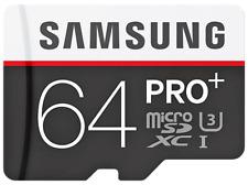 Tarjeta microSD - Samsung PRO Plus, 64GB, clase 10