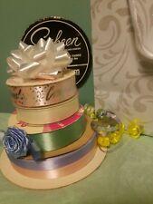 Vintage Lot of 5 Rolls Sasheen & other brands Ribbon Variety