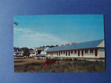1000 ISLAND MOTEL POSTCARD GANANOQUE ONTARIO CANADA TELEPHONE 4 AAA APPROVED