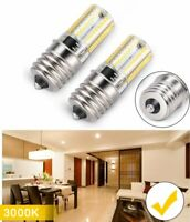 2PCS E17 LED Bulbs Microwave Oven Light Non-Dimmable 4W Warm White 3000K