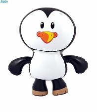 INFLATABLE PENGUIN GIANT 56CM BLOW UP NOVELTY ANIMAL PARTY TOY