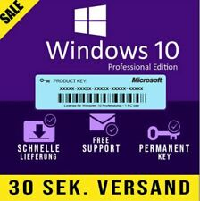 ✔Windows 10 Pro OEM Activation Key (32/64 Bit) Vollversion Lizenz✔
