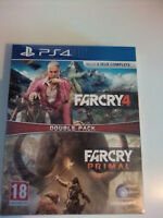 FAR CRY COMPILATION : FAR CRY 4 + FAR CRY PRIMAL *** PS4 *** NEUF