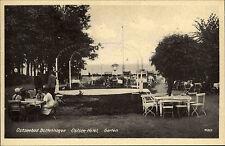 Boltenhagen Mecklenburg-Vorpommern ~1940 alte s/w AK Ostsee-Hotel Gartenlokal