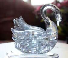 DIY 3D Puzzle Crystal Puzzle White Swan Educational Activity