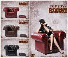"POPTOYS Coffee 1/6 British single sofa Chair Model F 12"" Action Figure Body F29"