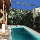 Sun Shade Sail 10x10Ft 97% UV Block Square Canopy Outdoor Patio Pool Deck Blue