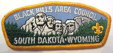 Boy Scout Black Hills Area Council South Dakota Wyoming Pocket Uniform Patch Bsa