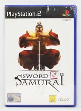 SWORD OF THE SAMURAI KENGO - PLAYSTATION 2 PS2 PLAY STATION - PAL ESPAÑA - NUEVO