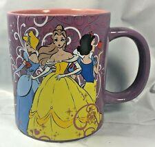 Disney Princess Collectible 14 oz Ceramic Coffee Mug Cinderella Belle Snow White