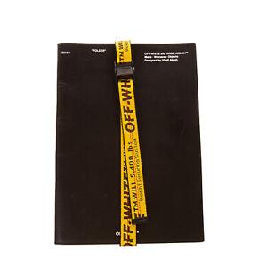 RRP €420 OFF-WHITE c/o VIRGIL ABLOH Leather Folder Document Holder Made in Italy