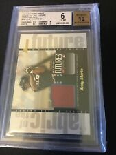 2003 BOWMAN ALL STAR FUTURES ANDY MARTE GAME WORN JERSEY RELIC FF-AM