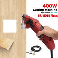 400W Mini Hand Held Circular Saw Cutting Tool Electric Laser Grinder w/ 3 Blades