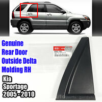 838401F001 Rear Door Outside Delta Molding Right RH For KIA SPORTAGE 2005-2010