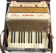 Vintage Hohner 25 Key 12 Bass Accordion OHSC • Pre-War Germany