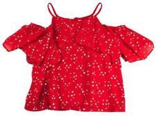 T-shirts, hauts et chemises à bretelles en polyester pour fille de 2 à 16 ans