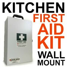 First Aid Kit Metal Wall Mount KITCHEN CAFE AUSTRALIAN LEGAL STANDARD OHS WHS