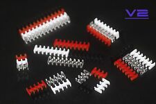 BD Kabelkamm Cable Combs 4 bis 24 Pin offen - schwarz, transparent, weiß, rot