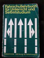 DDR OSTALGIE FAHRSCHULLEHRBUCH 1970