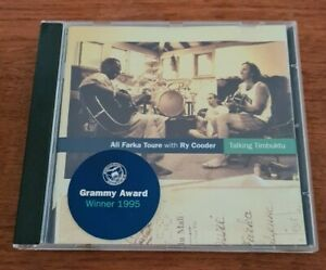 Ali Farka Toure with Ry Cooder – Talking Timbuktu   - CD - EX