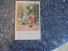 beau lot de huit carte postale ancienne enfantine.