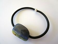 SOLID QUEENSLAND BOULDER OPAL RUBBER BRACELET NEW