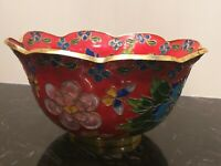 Antique Chinese Cloisone Bowl