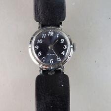 Damenarmbanduhr Zaria Handaufzug Stahl um/ab 1960 (50687)