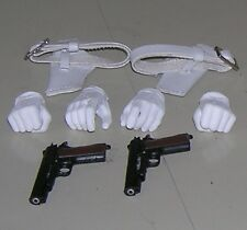 Triad Toys Ghost Pistols.Holisters,and hands/cy girls
