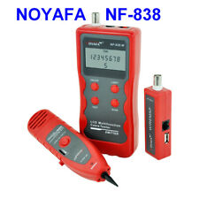 NOYAFA NF-838 Network Phone Wire Tracker LineFinder Short Circuit Line Cable CA