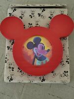 Walt Disney Mickey Mouse Ears 3 inch Round Photo Picture Frame. NEW with box.