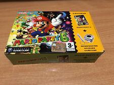 MARIO PARTY 6 GAME CUBE GAMECUBE WII NUOVO SIGILLATO ITALIANO 7 8 9 10 ITALIANO
