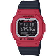 77a83af29ad2 Casio G-Shock GWM5610RB-4 Red Black Solar Bluetooth Watch.