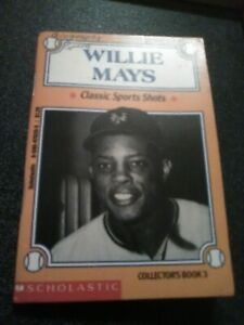 1993 Willie Mays Scholastic Classic Sports Shots Collectors Book 3