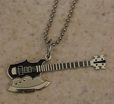 KISS Gene Simmons Style Bass - Necklace or Pin