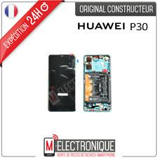 ECRAN LCD AURORA BLUE + BATTERIE ORIGINAL HUAWEI P30