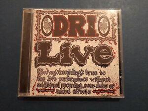 D.R.I. : Live (CD)