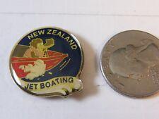 NEW ZEALAND JET BOATING TRAVEL PIN
