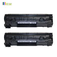 2 PK New CE278A 78A Toner for HP LaserJet Pro P1606dn P1566 M1536dnf P1606
